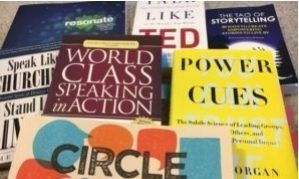 Which books are recommended when you are learning Public Speaking?