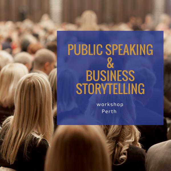 Lisa Evans Public Speaking Workshop Perth