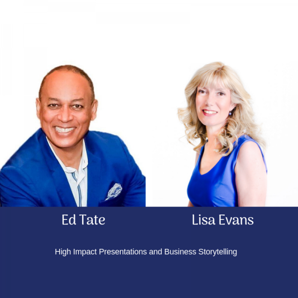 Ed Tate Lisa Evans - Public Speaking Course Perth