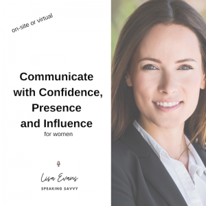 communicate with confidence presence influence for women