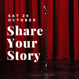 Storytelling workshop Share Your Story
