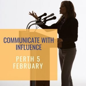 communicate with influence perth workshop