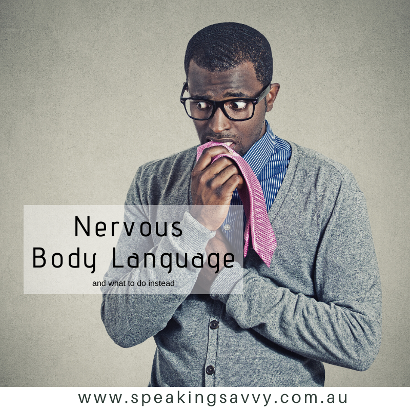 7 Signs of Nervous Body Language