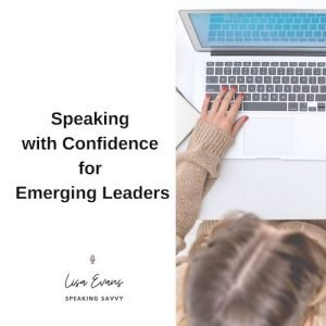 speaking with confidence for emerging leaders