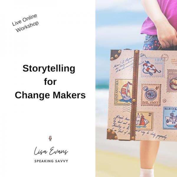 Storytelling Virtual Workshop Online