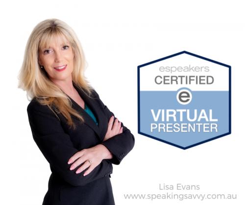 lisa evans online presenter certification image