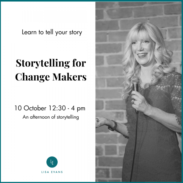 storytelling for changemakers october
