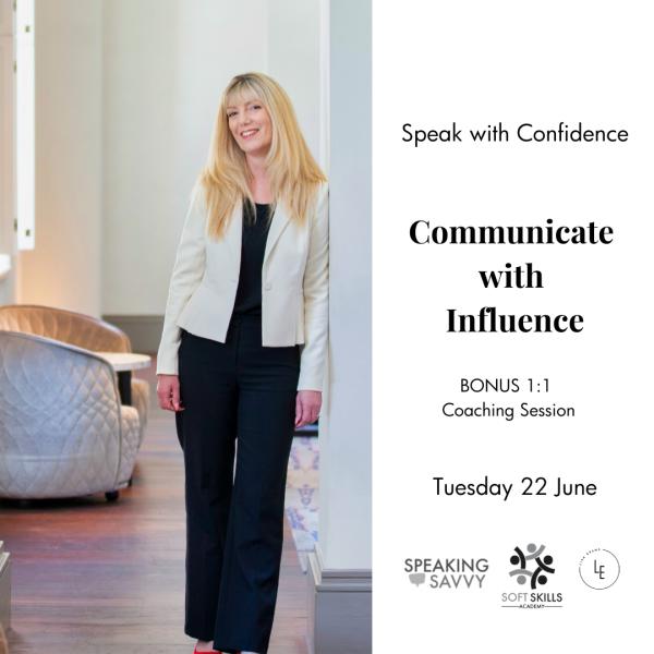 June 2021 public speaking workshop