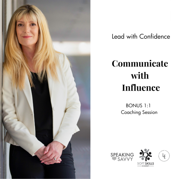 communicate with influence