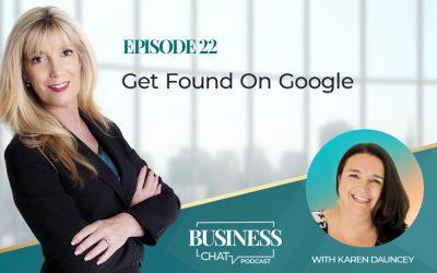 022: Get Found On Google With Karen Dauncey