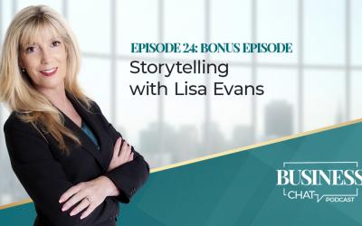 024: Bonus Episode – Storytelling with Lisa Evans